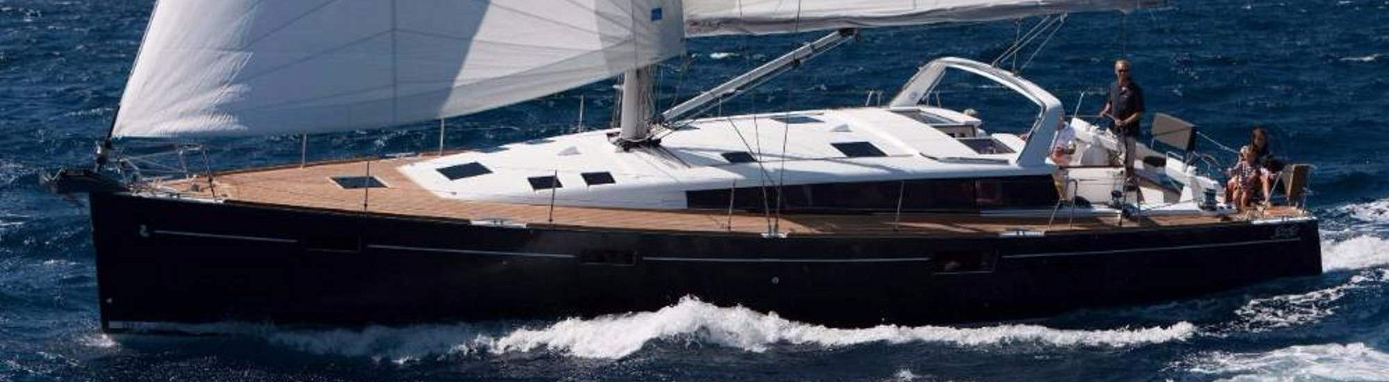 BEneteau Sense 50 cruising charter