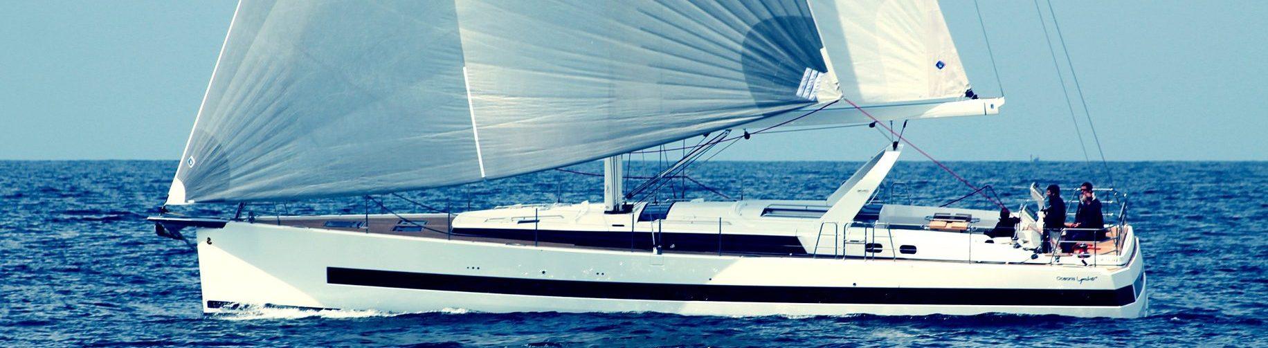 Beneteau Oceanis yacht 62 on open water