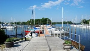 dock to G Winters marina slips