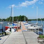 dock down to marina slips