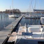 dock to marina slips